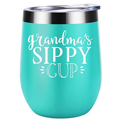 Grandma Sippy Cup Coolife Wine Tumbler Mug