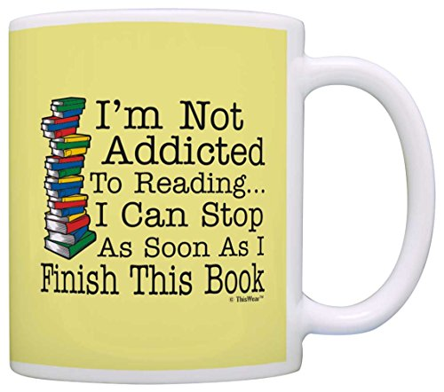 I'm Not Addicted to Reading Mug