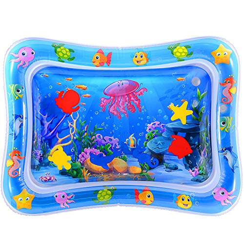 Inflatable Tummy Time Aquarium