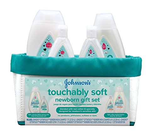 Johnson and Johnson Touchably Soft Newborn Skincare