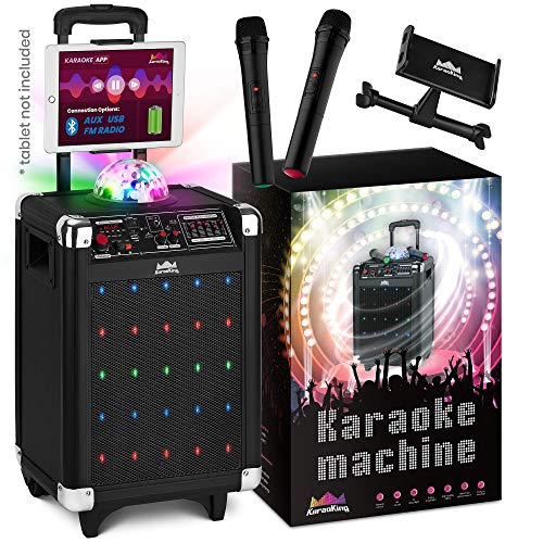 Karaoke Machine for Kids with Disco Ball