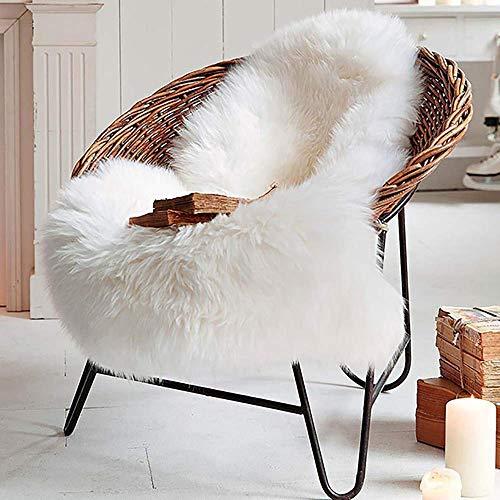 LOCHAS Deluxe Faux Sheepskin Rug