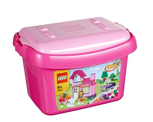Lego Bricks and More Pink Brick Box