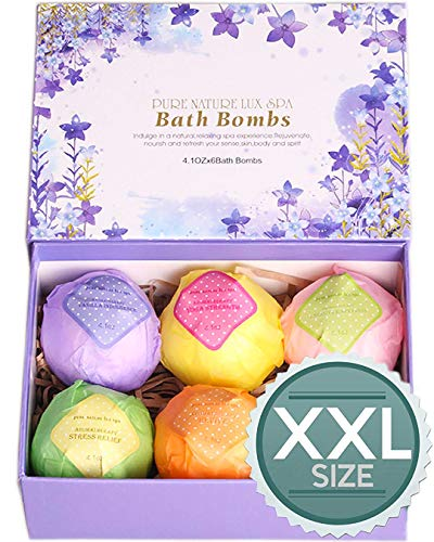 LuxSpa Deluxe Bath Bombs Set