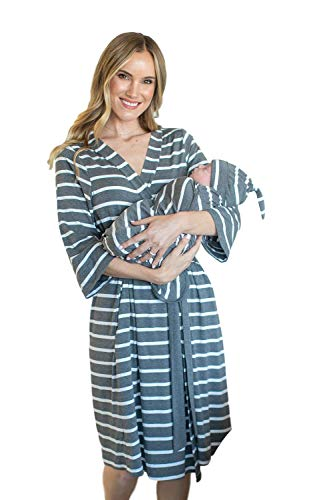 Matching Maternity Robe and Swaddling Blanket
