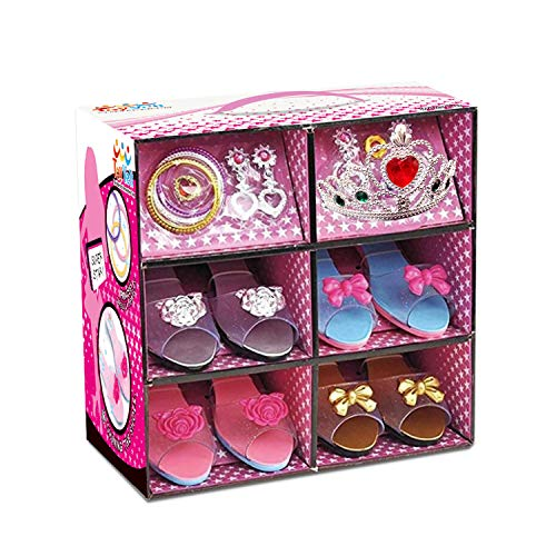 Mega Toy Brand Princess Dress Up Jewelry and Shoe Boutique