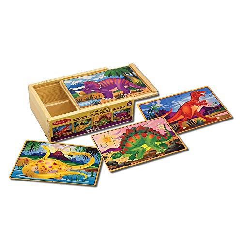 Melissa and Doug Dinosaur Jigsaw Puzzles