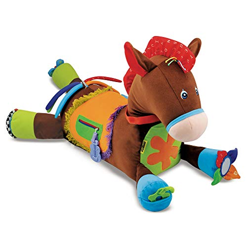 Melissa and Doug Giddy-Up and Play Baby Activity Toy