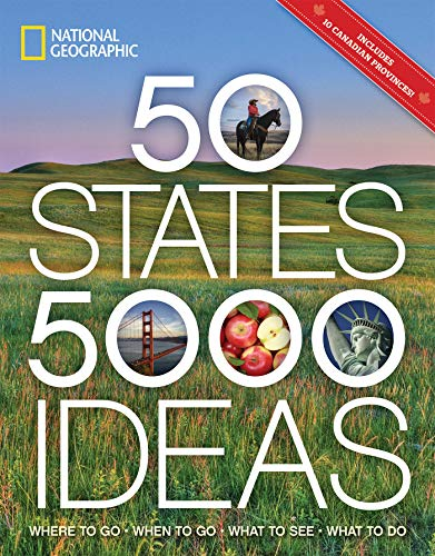 National Geographic 50 States 5000 Ideas Travel Book