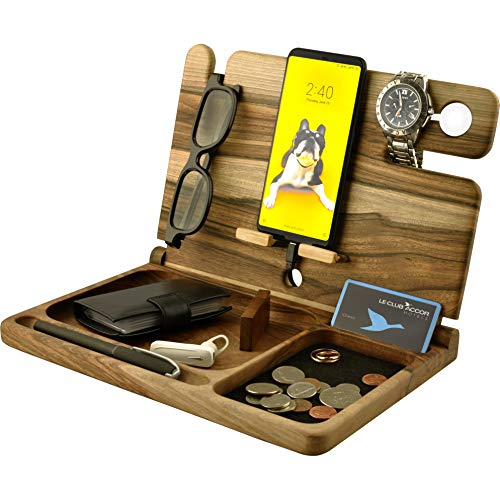 Natural Wood Cell Phone Stand