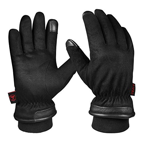 OZERO Winter Gloves with Touchcreen Fingers