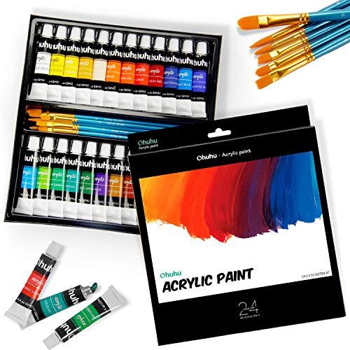 Ohuhu Complete Acrylic Paint Set