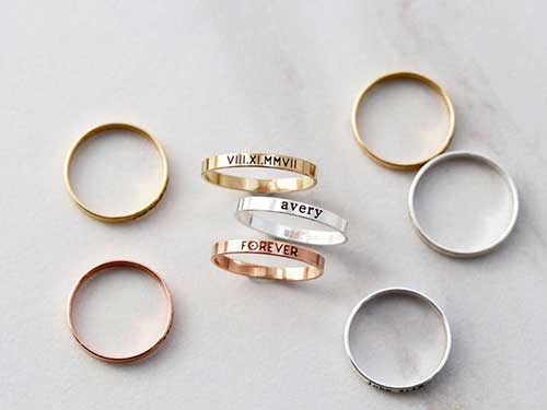 Personalized Ring for Grandma