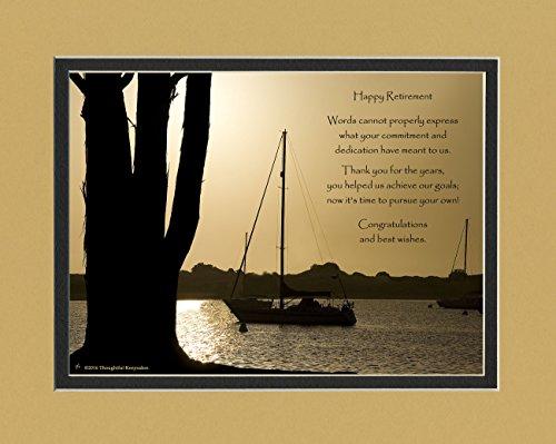 Photo Plaque with Retirement Poem