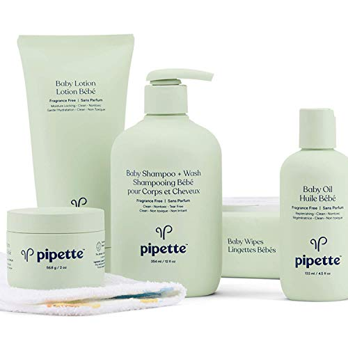 Pipette Plant Based Baby Skincare