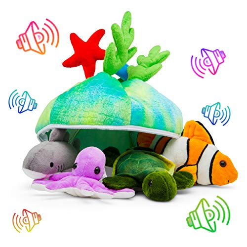 Plush Creatures Sea Set