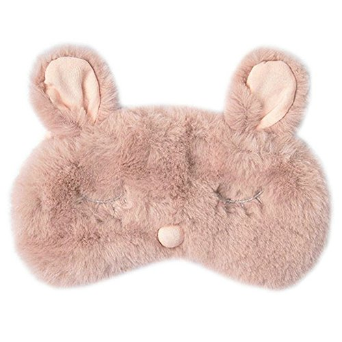 Plush Rabbit Eye Mask Cute Sleeping Eye Cover