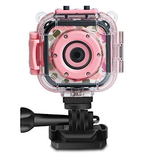 Prograce Kids Waterproof HD Camera