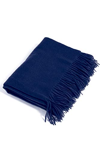 Pure Cashmere Throw Blanket