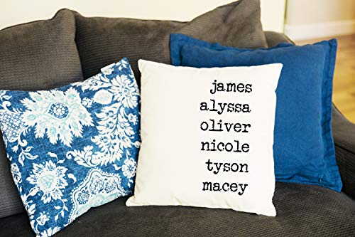 Quality Personalized Throw Pillow Cover