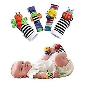 Rattle Socks and Arm Bands