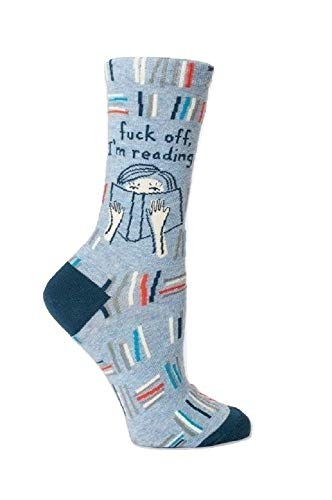 Reading Novelty Crew Socks