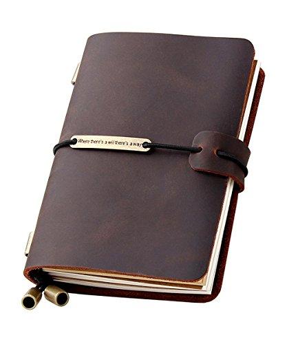 Refillable Handmade Traveler's Journal