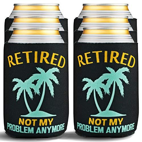 Retirement Not My Problem Beer Koozies