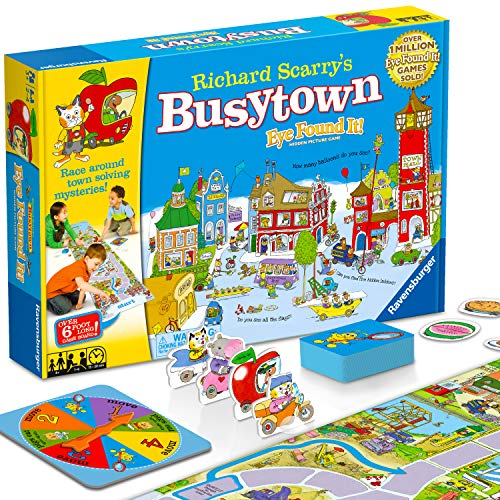 Richard Scarry's Busytown Eye Find It Game