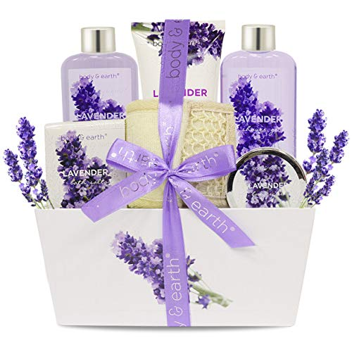 Six Piece Lavender Spa Kit