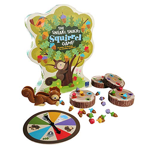 Snacky Squirrel Preschool Board Game