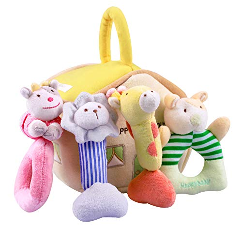 Soft Animals Rattle Set