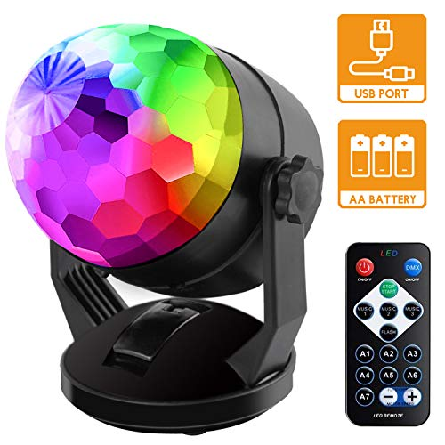 Sound Activated Disco Ball Light