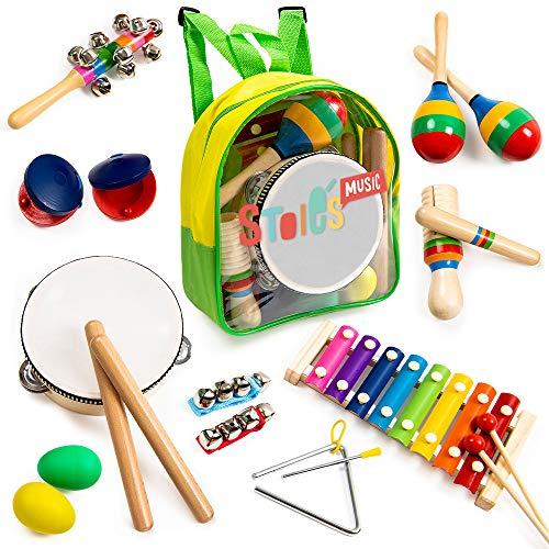 Stoie's Musical Instrument Set