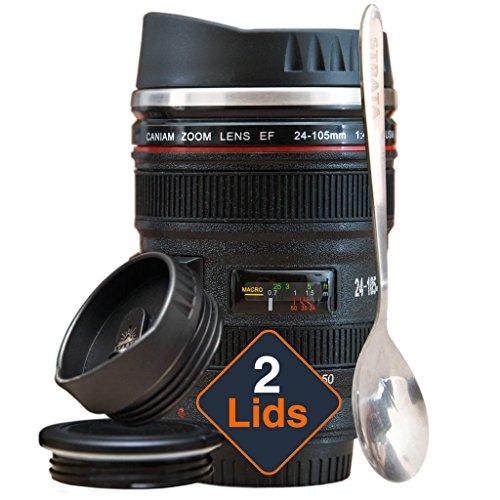Strata Camera Lens Coffee Mug