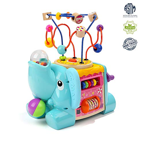 Top Bright Activity Cube Toy With Bead Maze
