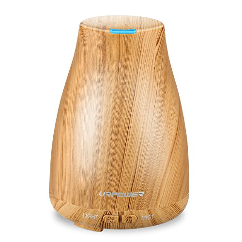 URPOWER 2nd Version Essential Oil Diffuser Aroma Cool Mist Humidifier
