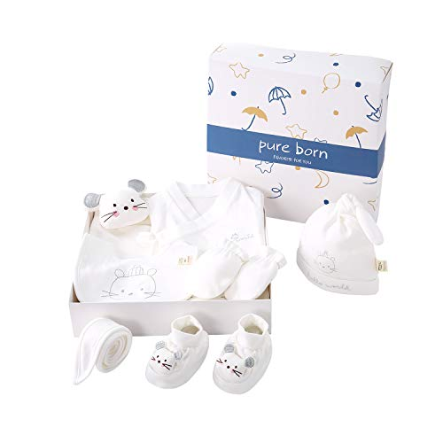 Unisex 7-Piece Layette Set