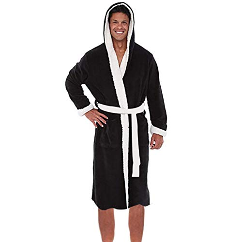 Viasa Mens Bathrobe