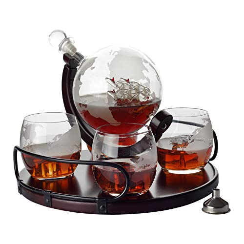 Whisky Decanter Set