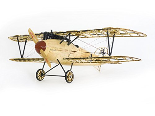 Wooden Model Bi-Plane Albatross