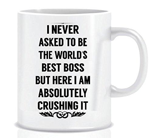 World's Best Boss Novelty Mug
