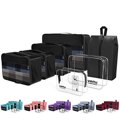 YAMIU Packing Cubes Travel Organizer