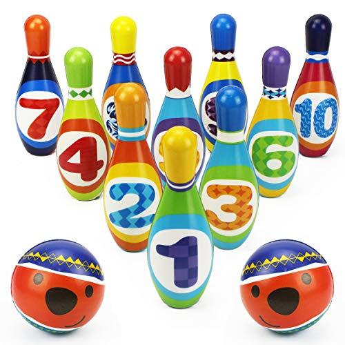 iPlay iLearn Kids Bowling Toy Set