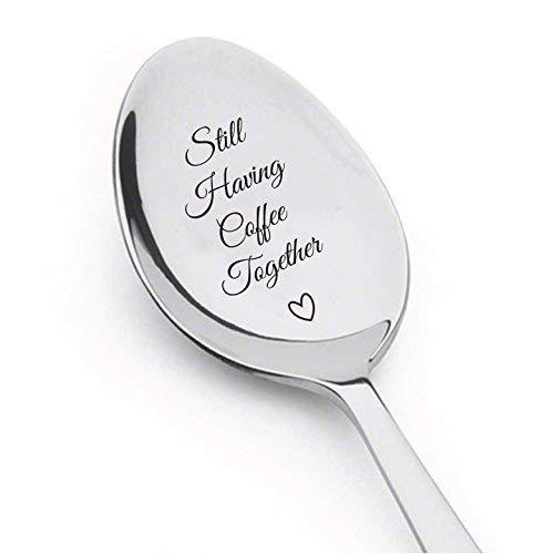 till Having Coffee Together Teaspoon