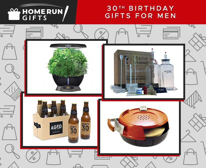 30th Birthday Gifts for Men Featured Image