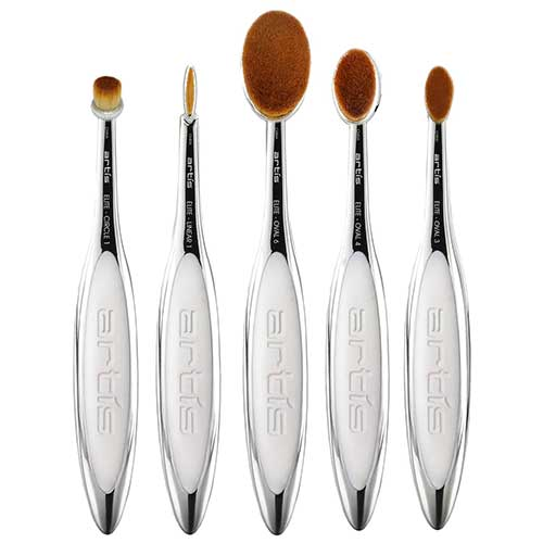 5 Piece Makeup Brush Kit