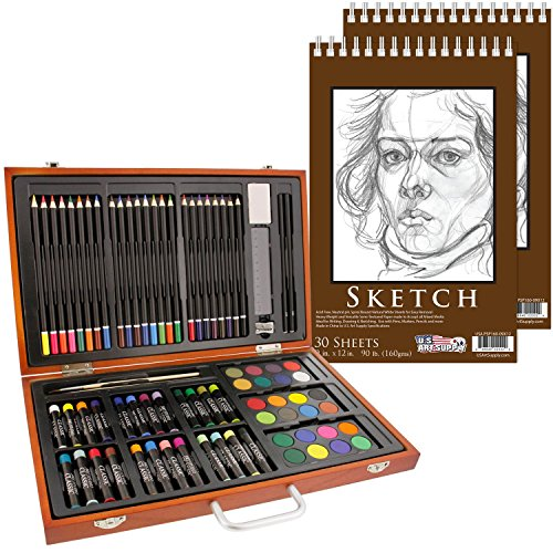 82 Piece Deluxe Art Set