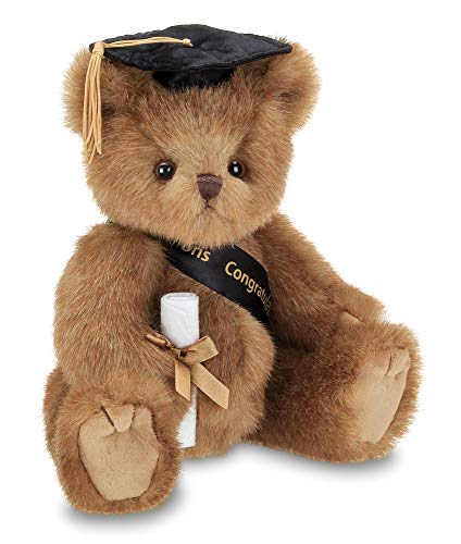 A Graduation-Themed Teddy Bear
