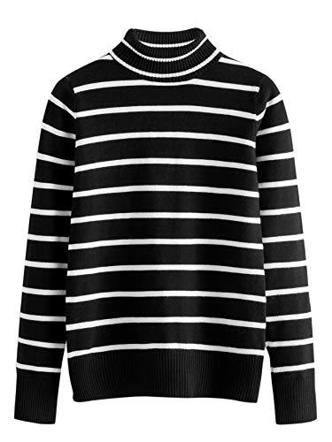 A Mockneck Sweater